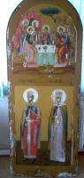 Святой равноапостольный Константин и святая Елена ( до реставрации)