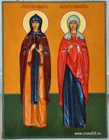 Святая Евдокия и святая Параскева
