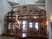 Иконостас в п. Баргузин. Монтаж