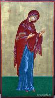 Пресвятая Богородица (икона деисусного ряда)