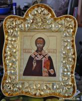 Икона святого Льва