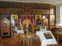 Иконостас Иннокентьевского придела. Храм Святого Вознесения, г. Улан-Удэ