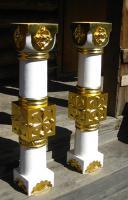 Иконостас в п. Баргузин.   Детали иконостаса