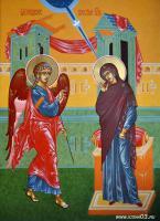 """Икона """"Благовещение пресвятой Богородицы"""""""