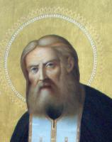 Преподобный Серафим Саровский Чудотворец (после реставрации)