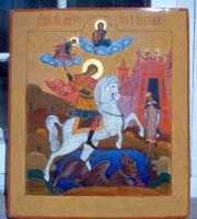 Святой великомученик Георгий Победоносец (до реставрации)