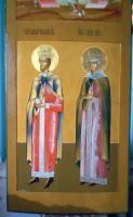 Святой равноапостольный Константин и святая Елена (после реставрации)