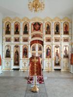 Иконостас в с. Бичура, респ. Бурятия