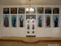 Иконостас в с. Сухой Ручей (Бичурский район)