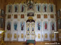 Иконостас в селе Старая Брянь