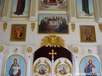 Иконостас в с. Старая Брянь (Заиграевский район)