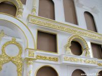 Тело иконостаса ( в храме Вознесения Господня в поселке Новоселенгинск)