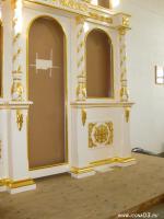 Фрагмент тела иконостаса  ( в храме Вознесения Господня в поселке Новоселенгинск. )