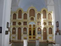Иконостас  ( в храме Вознесения Господня в поселке Новоселенгинск. )