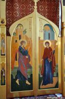 Царские врата (иконостас в Кабанском Свято- Никольском храме)