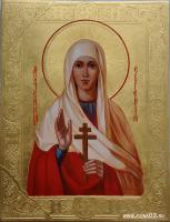 Святая мученица Евгения (работа Марины Климовой)