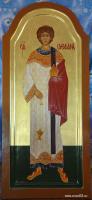 Святой Стефан  (диаконовские двери)