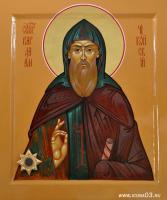 Святой Варлаам Чикойский (с мощевиком )