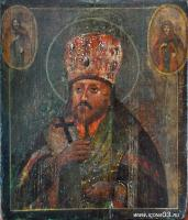 Святой Иннокентий Иркутский (после реставрации)